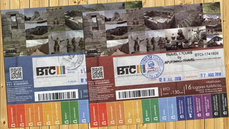 Cusco Tourist Ticket
