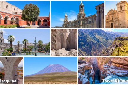 Tourist destinations in Arequipa
